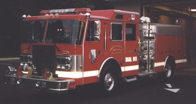 Nanuet Fire Engine Company 1 Rockland County New York
