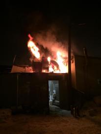 Fortune Garden fire.  2/14/15.