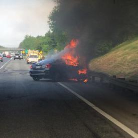 Car fire, 5/12/15.