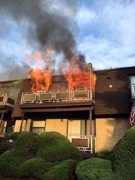Germonds Village Fire.  8/16/16.  Photo by:  Jason DiSalvo