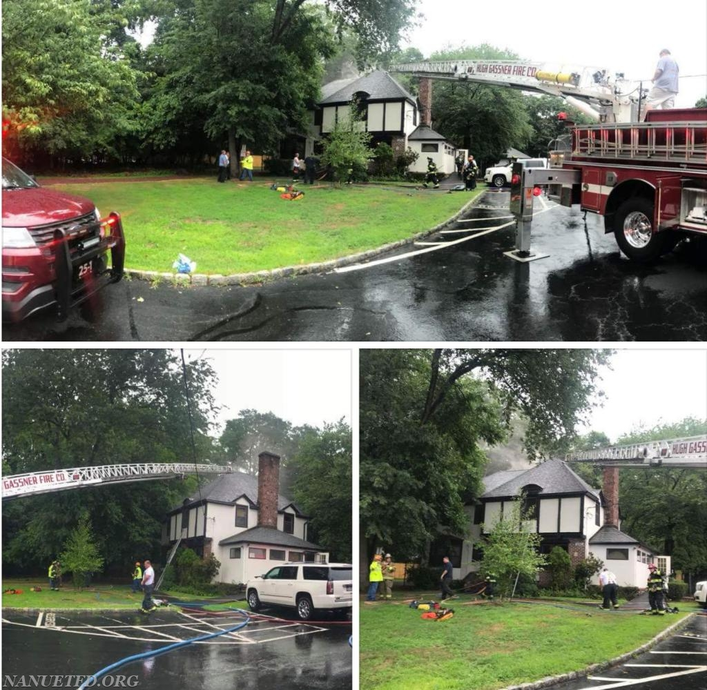 Department 25's Structure fire